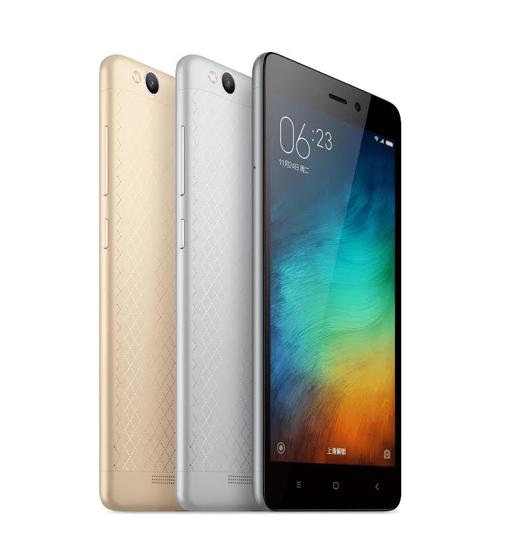 Xiaomi Redmi 3 design