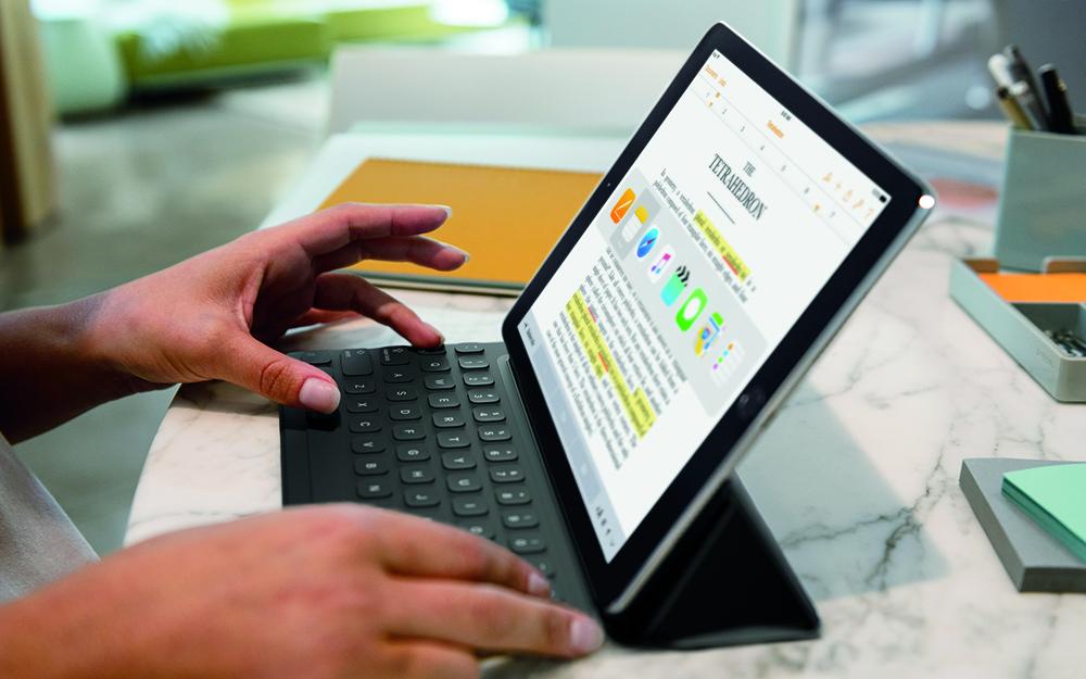 iPad Pro 9.7, il processore è più lento