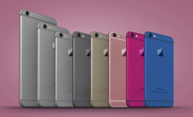 iPhone 6c immagine render