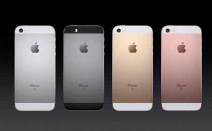 iPhone SE: scheda tecnica ufficiale del melafonino