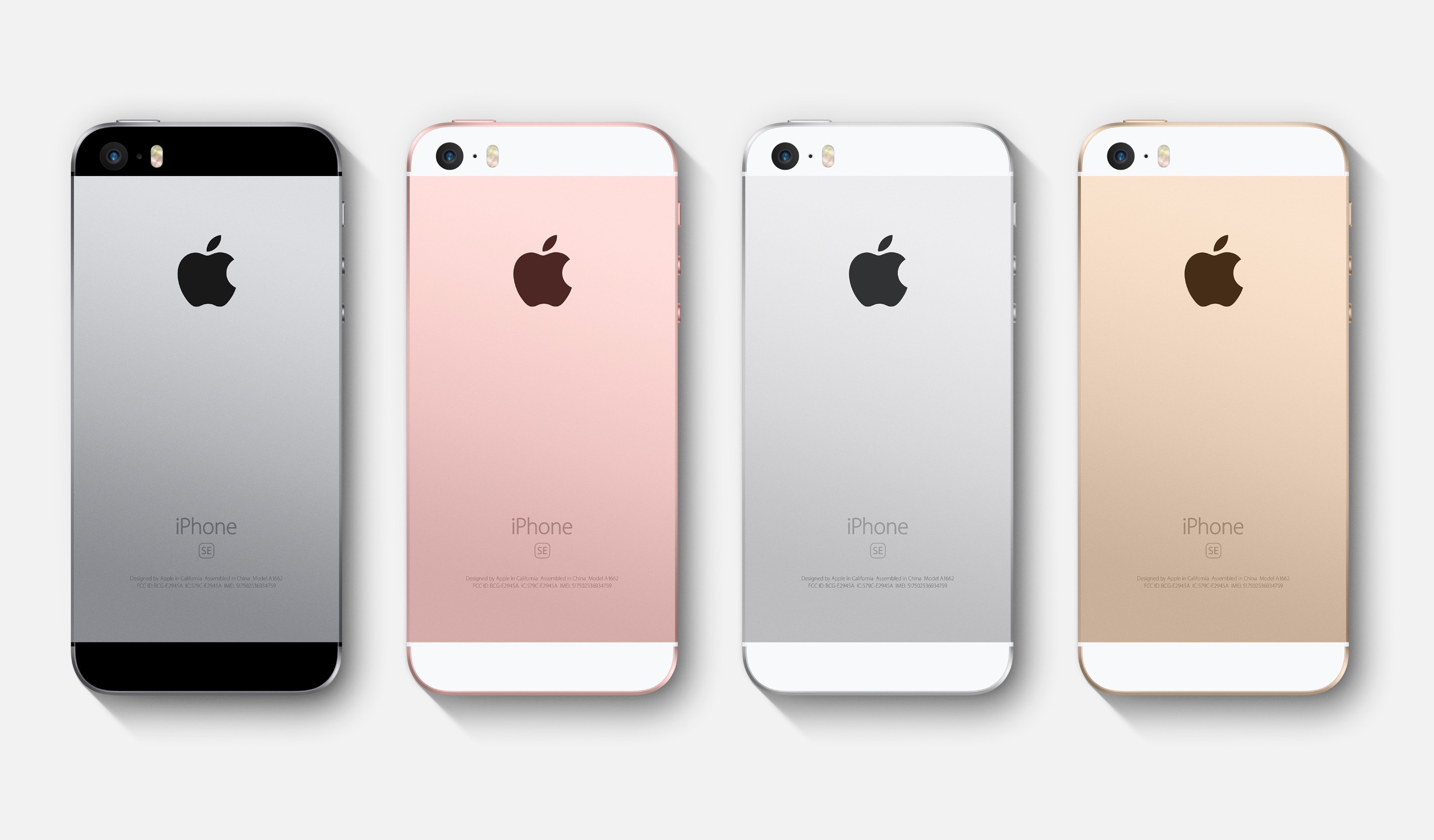 iPhone SE colori disponibili