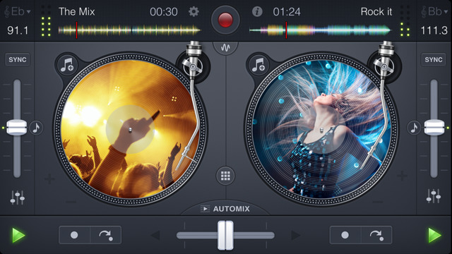 App DJ iPhone iPAd