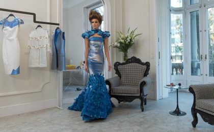 Butterfly Dress, l'abito intelligente con Intel Edison