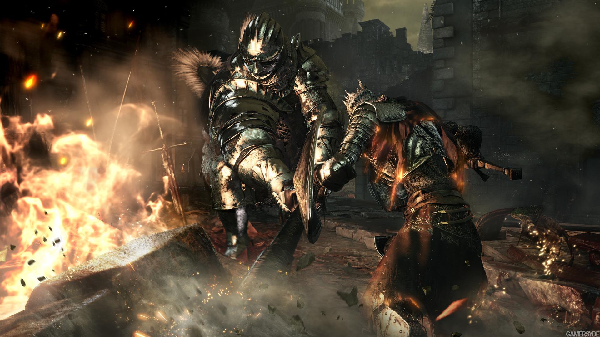 Dark Souls 3 Fight