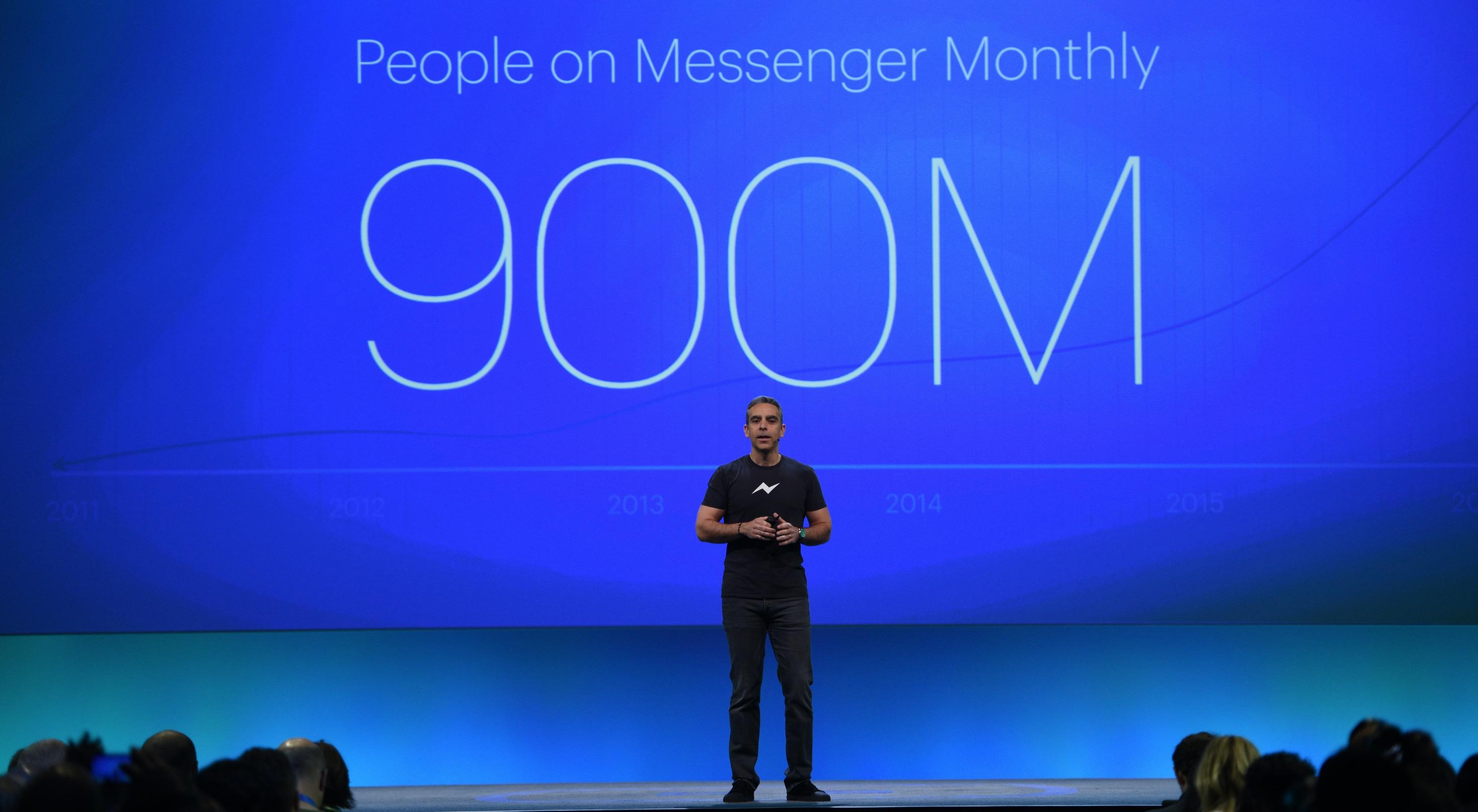 Facebook Messenger piattaforma