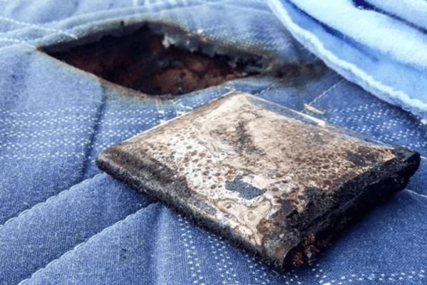 Samsung Galaxy S3 esplode nel letto di un ragazzino