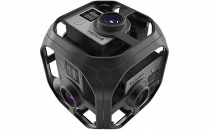 GoPro Omni e Odissey per registrare video suggestivi a 360 gradi