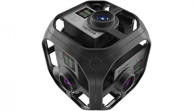 GoPro Omni e Odissey per registrare video suggestivi a 360 gradi