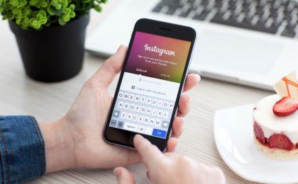 Instagram, arriva il design in bianco e nero