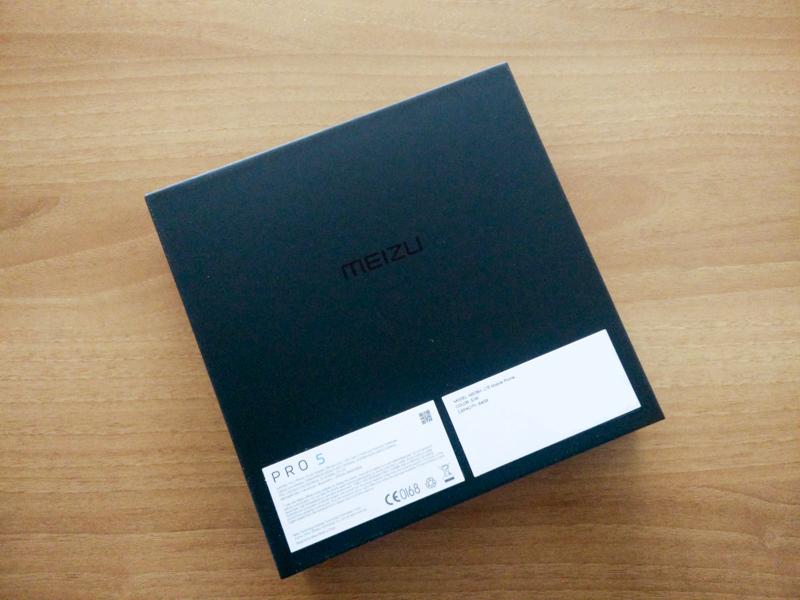 Retro confezione Meizu Pro 5