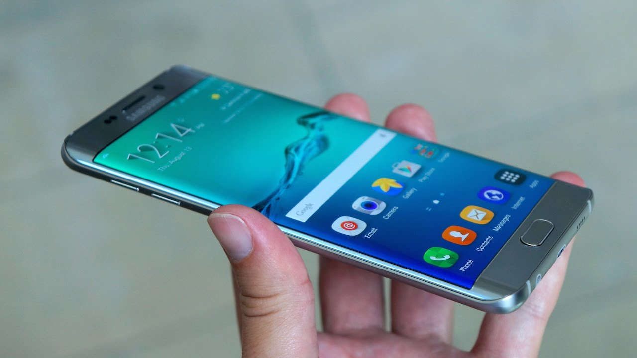 Samsung Galaxy S6 Edge Plus handson