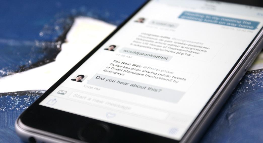Twitter nuovo tasto: si inviano messaggi diretti