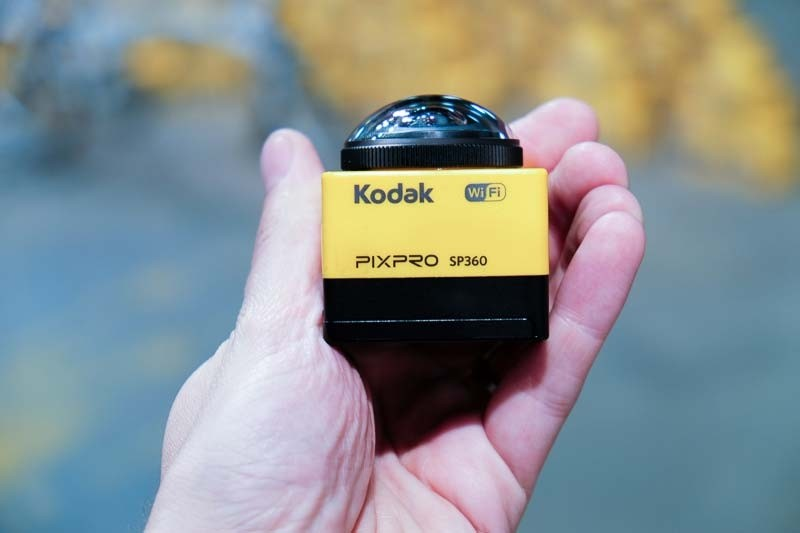 Videocamera per video a 360 gradi