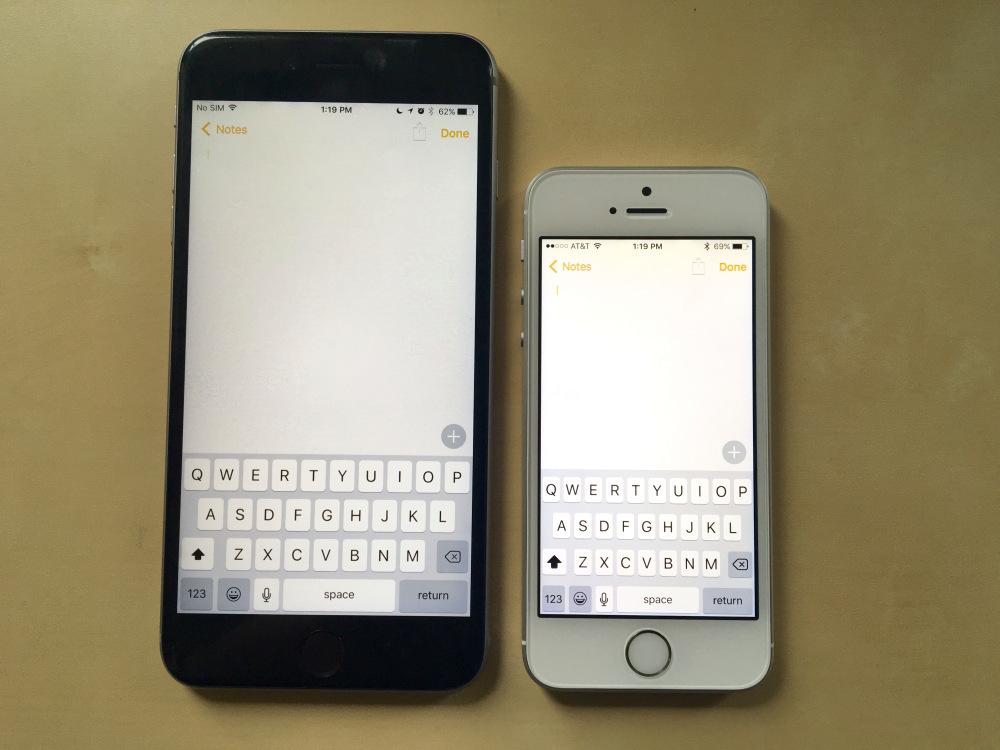 iPhone SE vs iPhone 6S Plus: stessa potenza tra i due melafonini