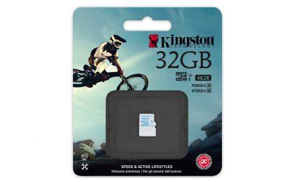Kingston UHS-I U3: la microSD ideale per GoPro e droni