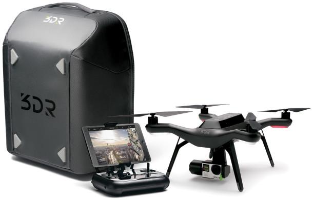 3DR Solo: scheda e funzionalità del drone smart