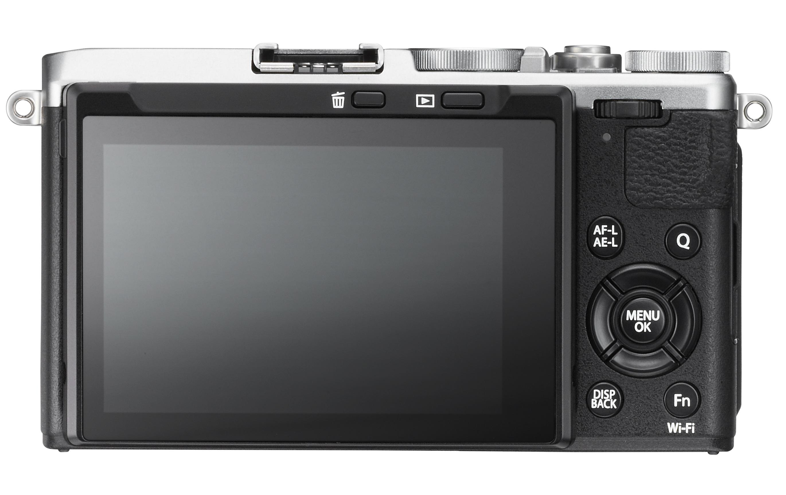 Fujifilm x70_back_silver