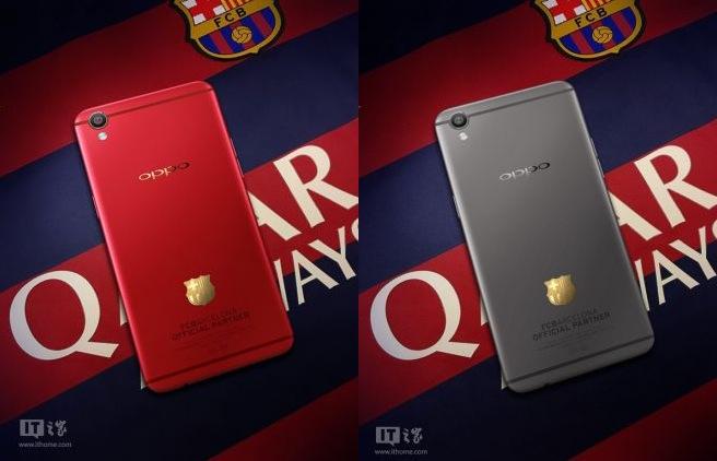 Oppo R9 Barcellona: prezzo e scheda della versione speciale