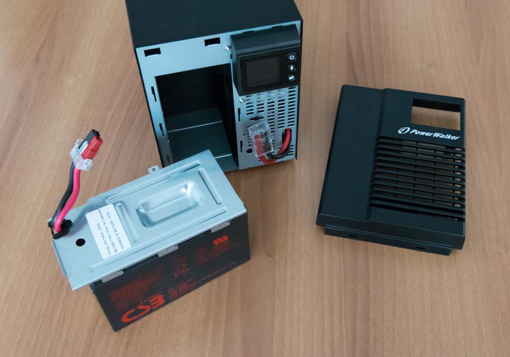 PowerWalker VI 500T HID componenti interne