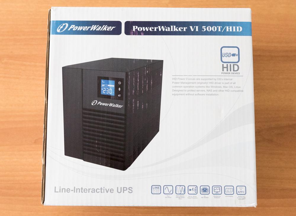 PowerWalker VI 500T HID unboxing