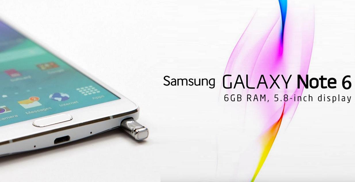 Samsung Galaxy Note 6 anticipazioni