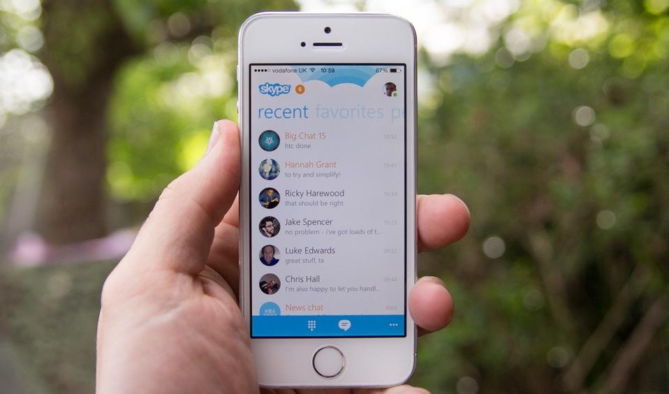 Skype per iOS, i videomessaggi si possono salvare