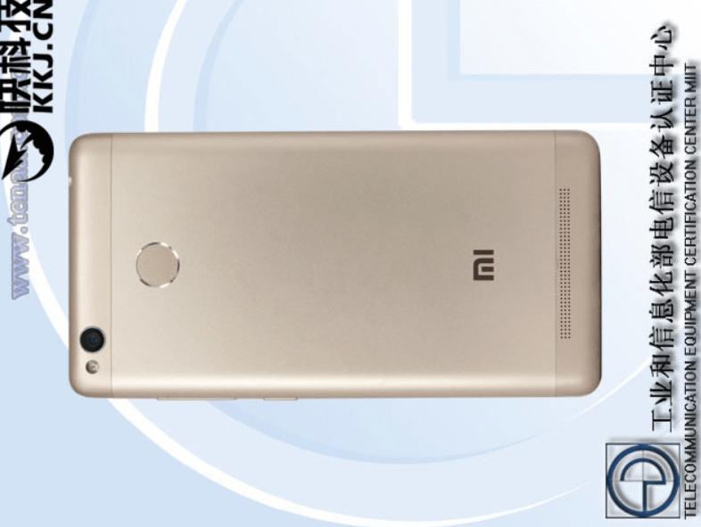 Xiaomi Redmi 3A in uscita: la scheda tecnica