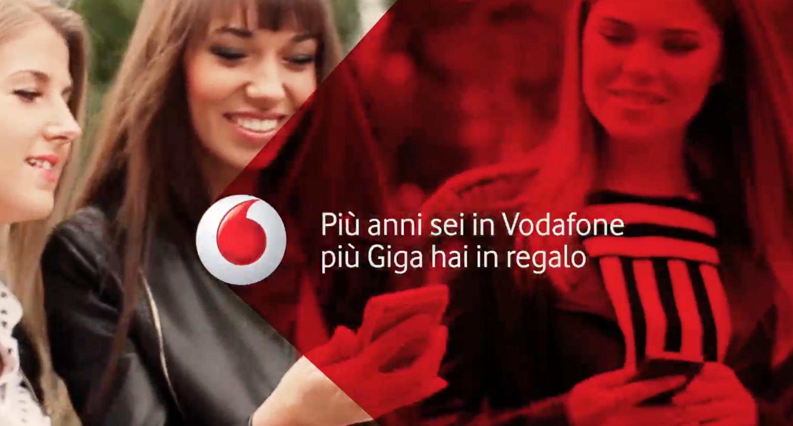 Vodafone Giga4You regala fino a 10 GB di Internet ai clienti