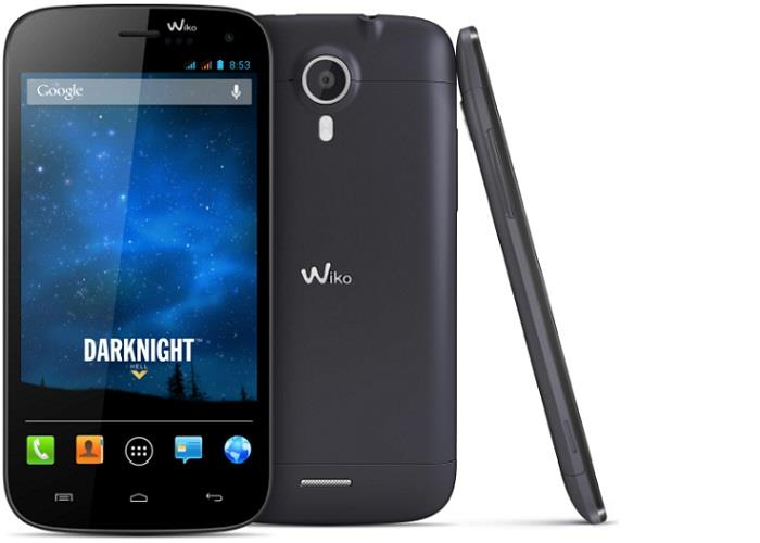 Wiko Darkmoon vari profili