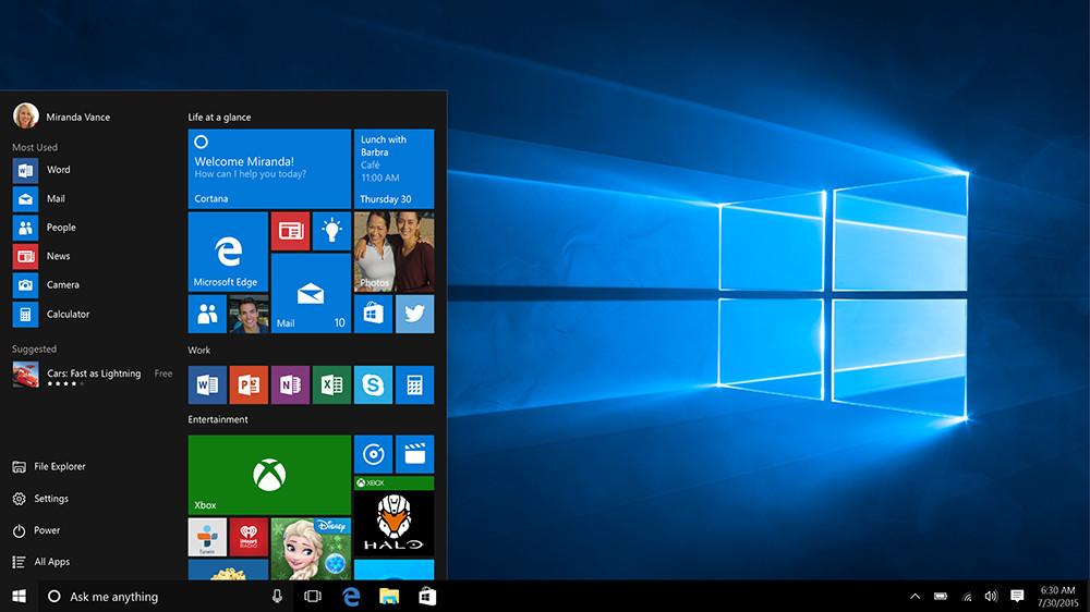Windows 10, Microsoft aggiorna i requisiti
