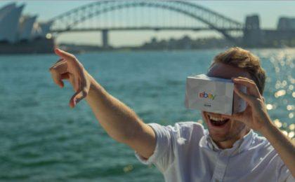 eBay, debutta il negozio in realtà virtuale
