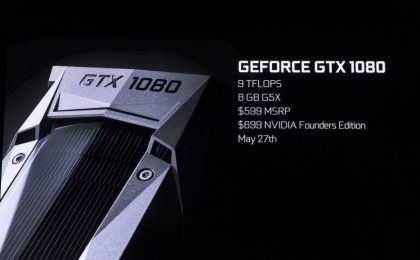 Geforce GTX 1080 e GTX 1070: cos'è la Founders Edition?