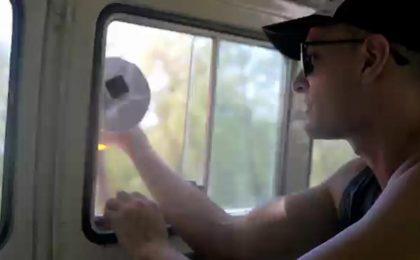 Birdie il selfie paracadute per actioncam
