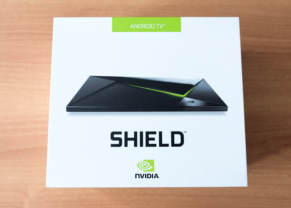 Android Shield TV unboxing