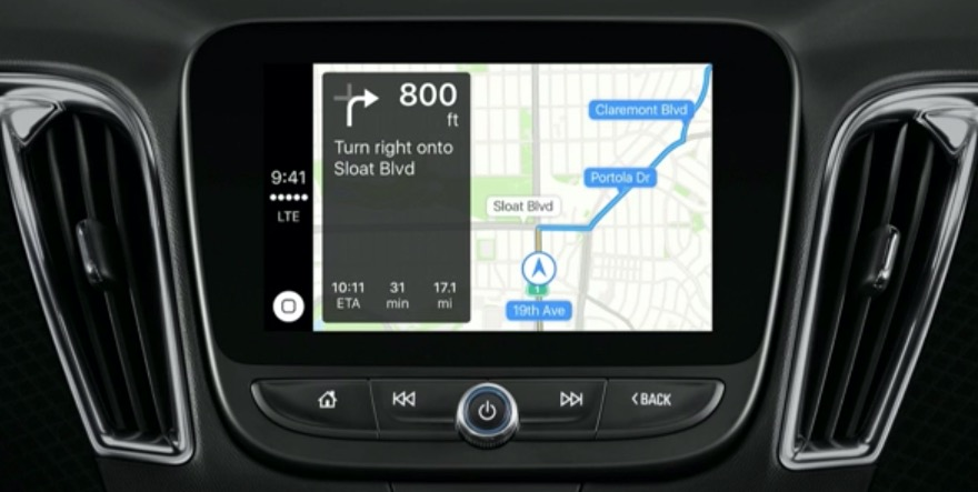 Apple Maps CarPlay