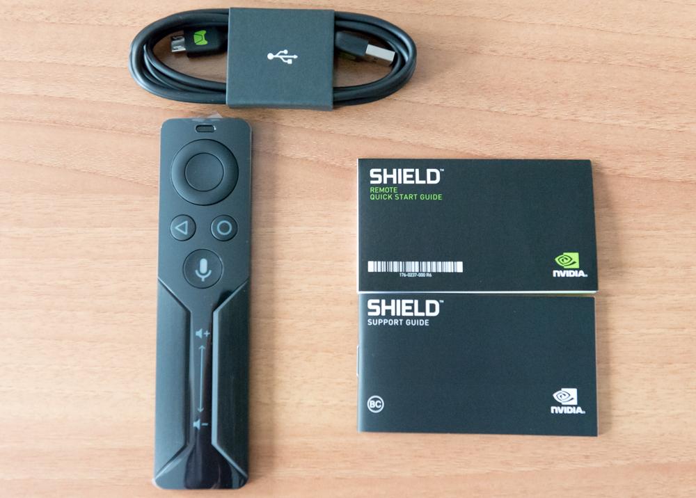 Contenuto Shield Remote unboxing