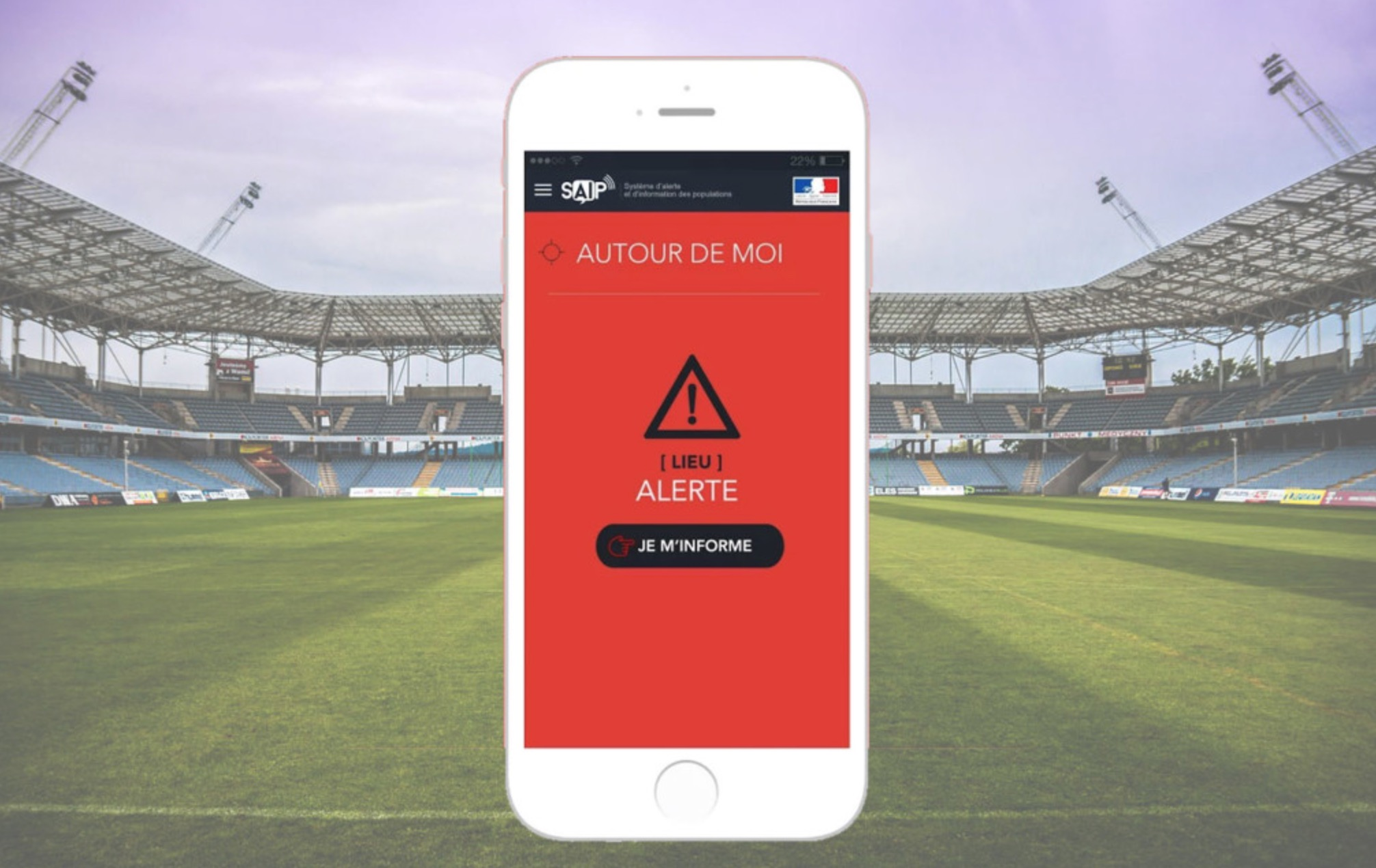 Europei 2016, SAIP è l'app per l'allarme terrorismo