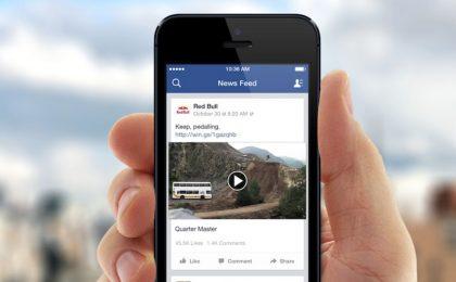 Facebook Slideshow, mini clip personalizzate con foto e video