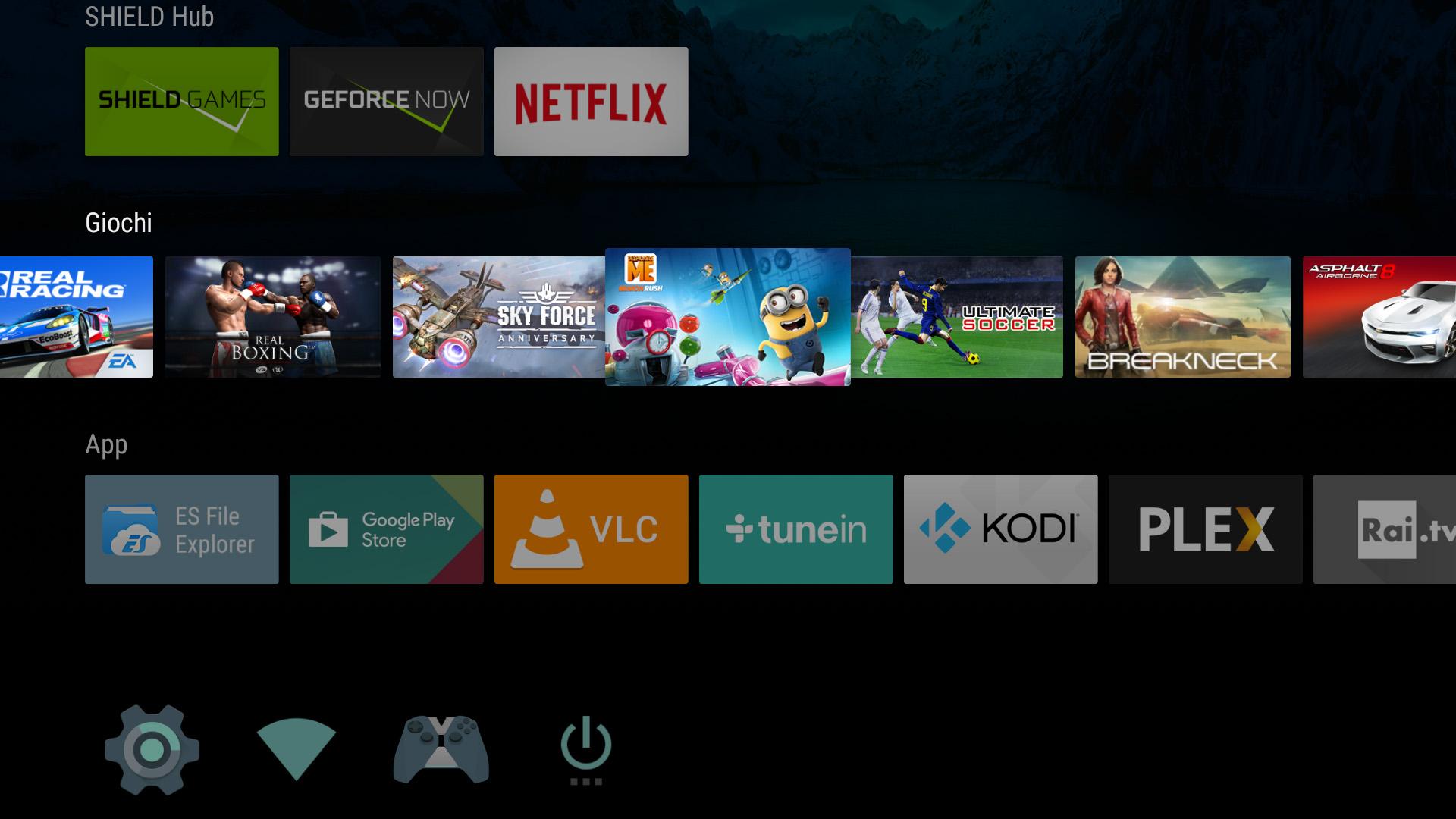 Giochi NVIDIA Shield Android TV