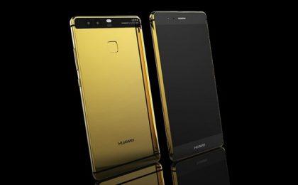 Huawei P9 nella colorazione oro