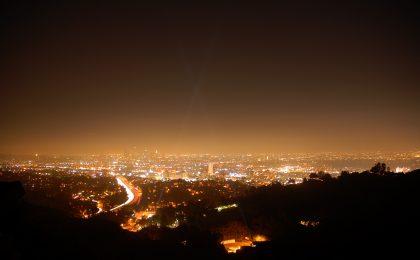 L'inquinamento luminoso dei LED cancella la notte