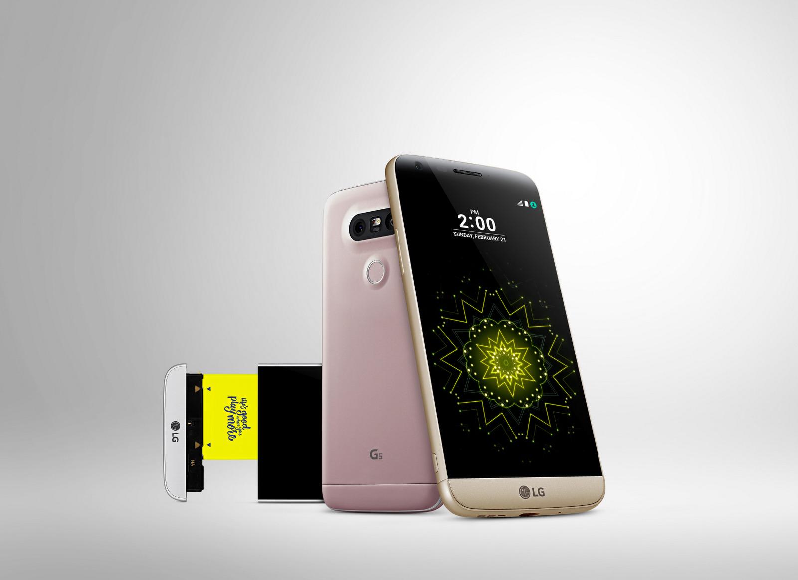 LG G5 modulare