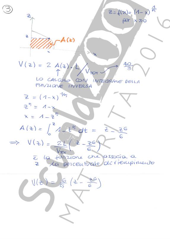 Matematica soluzione problema maturità 2016 quarta