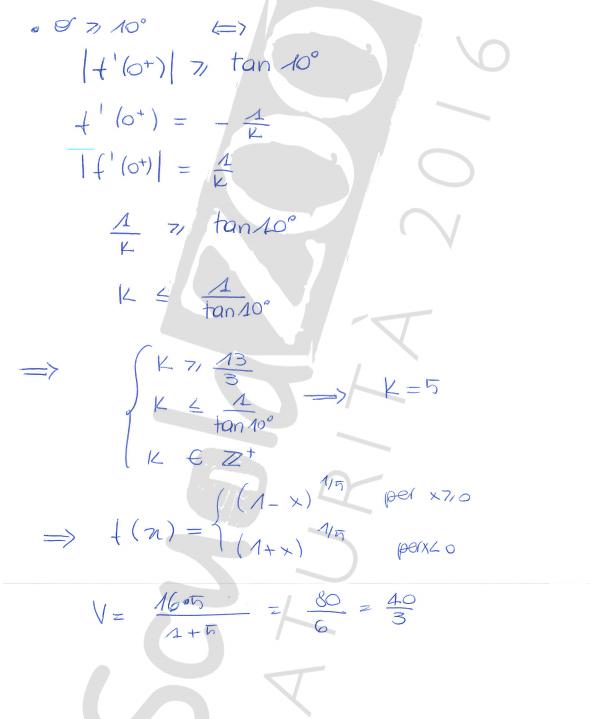 Matematica soluzione problema maturità 2016 terza