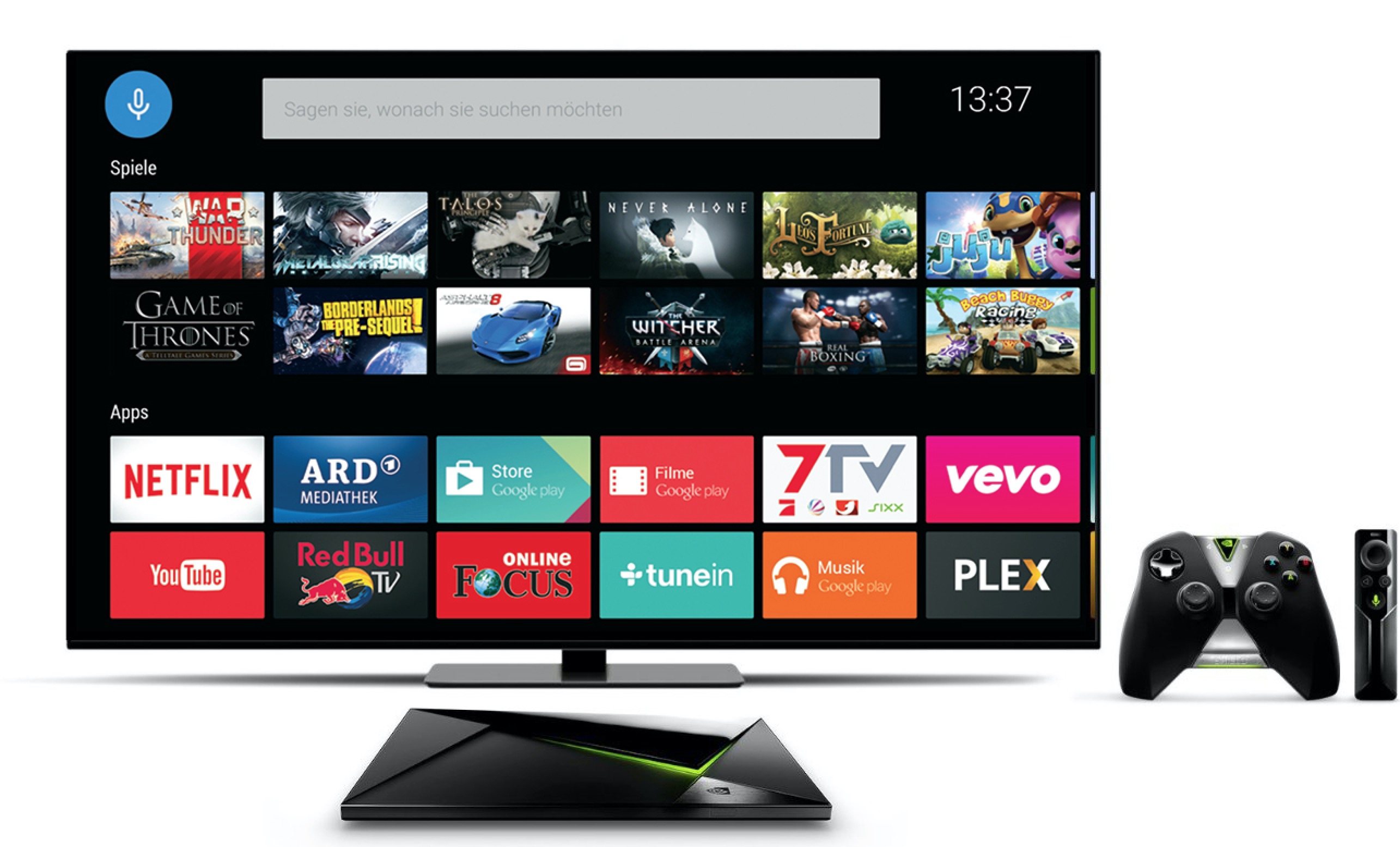 NVIDIA Shield Android TV accessori