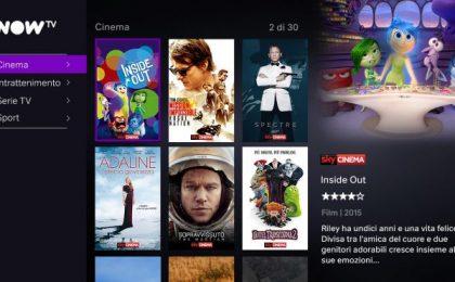 NOW TV: prezzi, abbonamenti e info sul nuovo Sky Online
