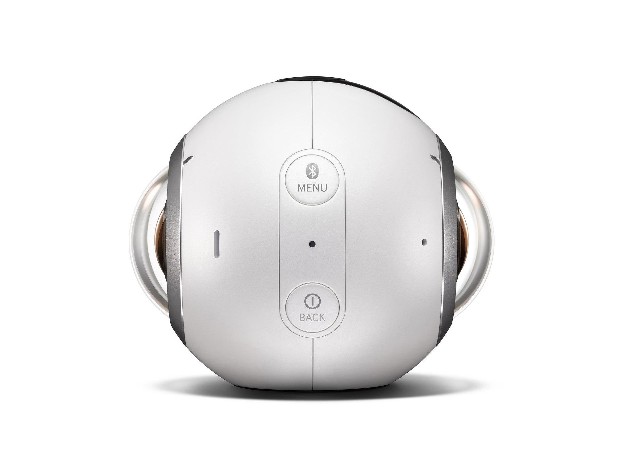 Samsung Gear 360 pulsanti