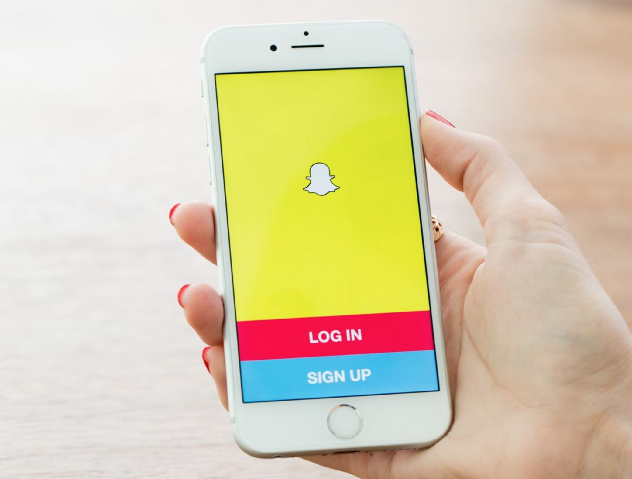 Snapchat su iPhone