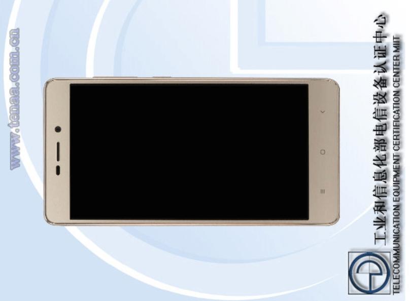 The Xiaomi Redmi 3A fronte