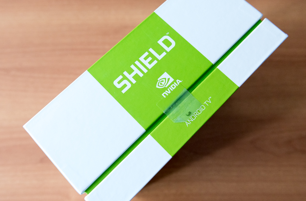 Unboxing Shield Android TV